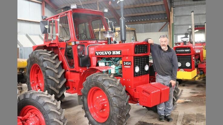 En traktor uden sidestykke