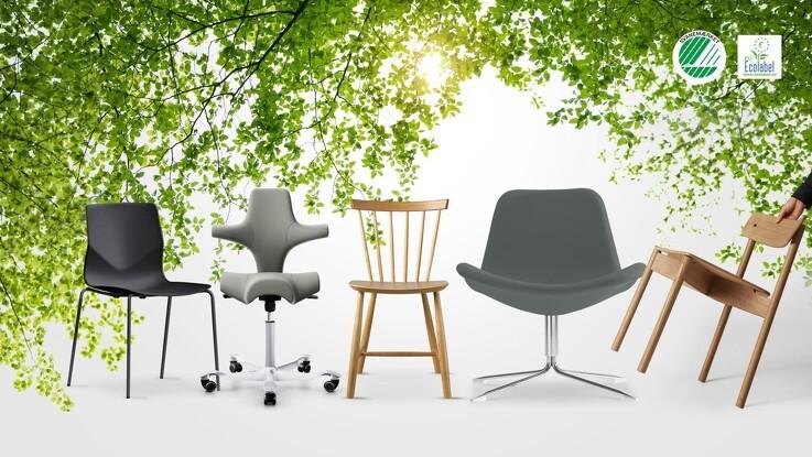 Miljømærkede møbler hitter