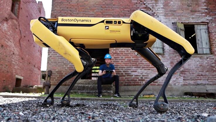 Gående robot skal testes i Danmark