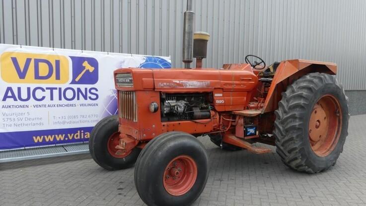Kæmpe auktion med over 150 veterantraktorer - 42 forskellige mærker