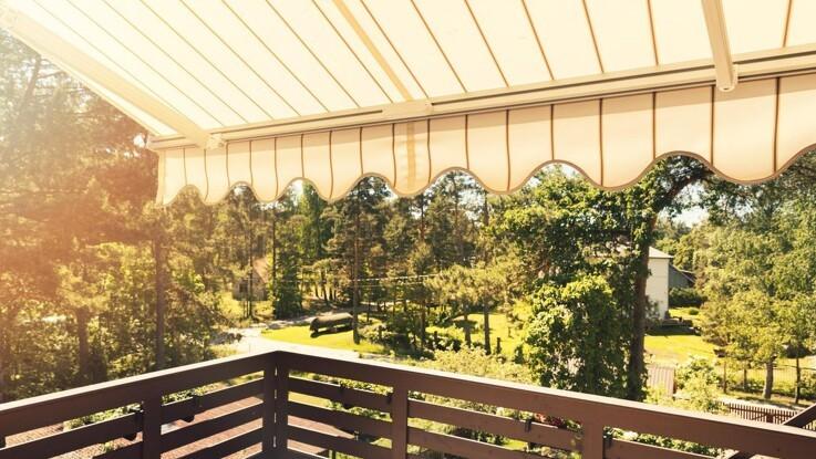 Skab mere udendørs hygge i sommerhuset med en markise
