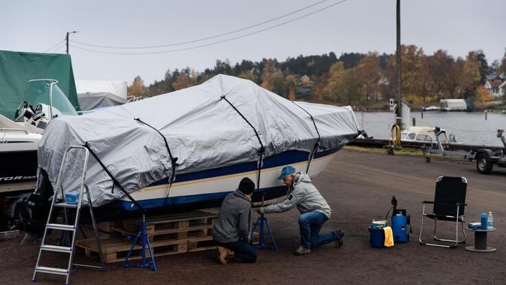 Sådan gør du båden vinterklar