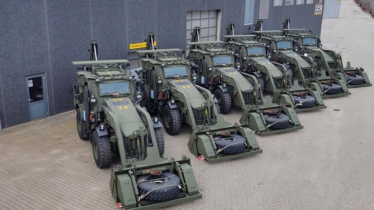 Forsvaret kloner traktor og rendegraver