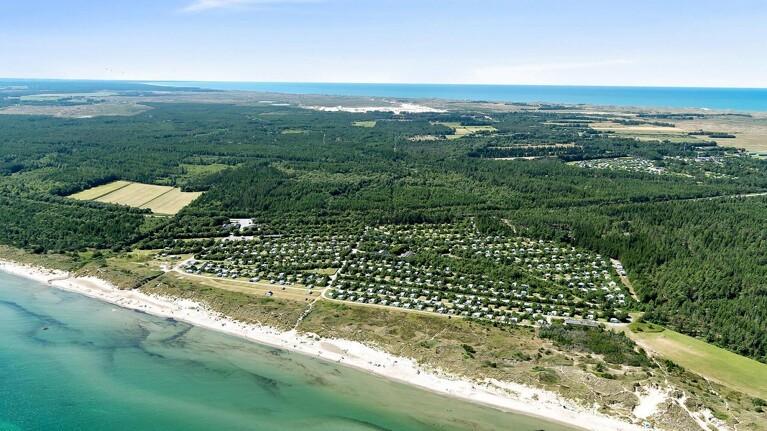 Naturskøn campingplads til salg