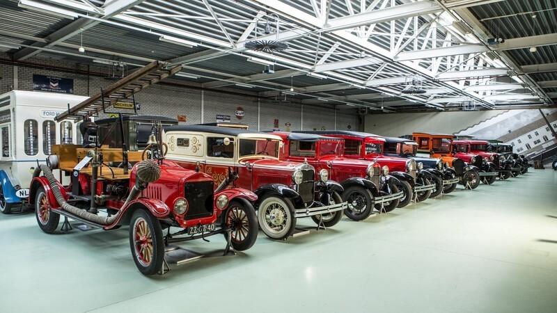 Klassiske Fords solgt for over 45 millioner kroner