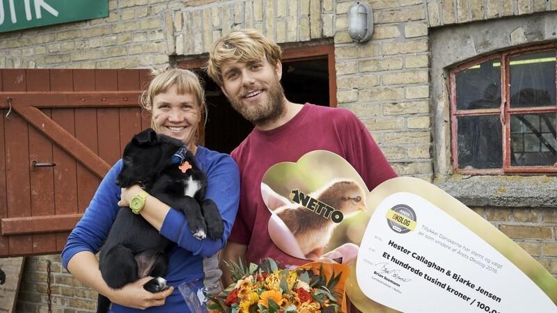 Hester og Bjarke er Årets Økologer