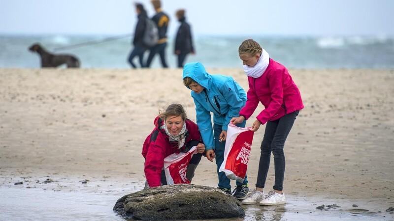Danskerne opsamler hav-skrald som aldrig før