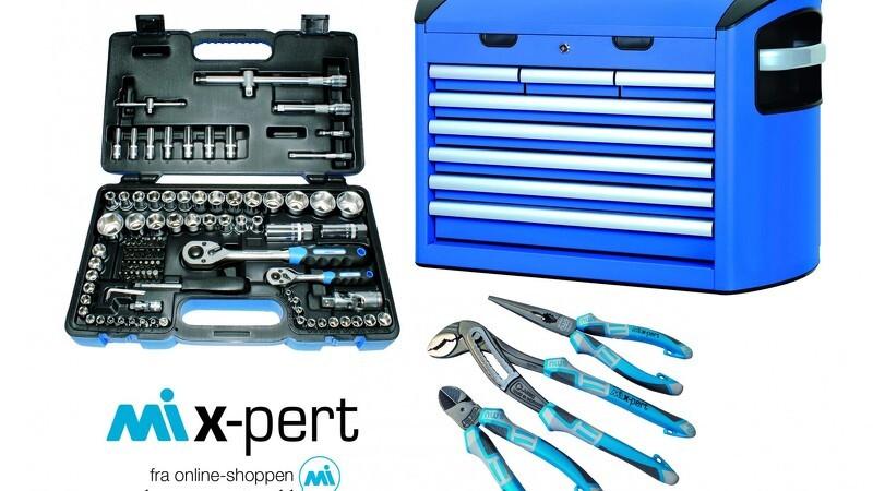 Vind et professionelt værktøjssæt