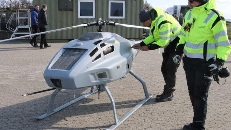 Drone skal sniffe efter svovl