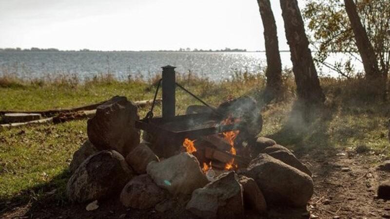 Brug bålsteder til åben ild i naturen