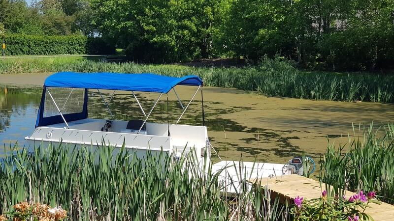 Ny flydende camping-vogn