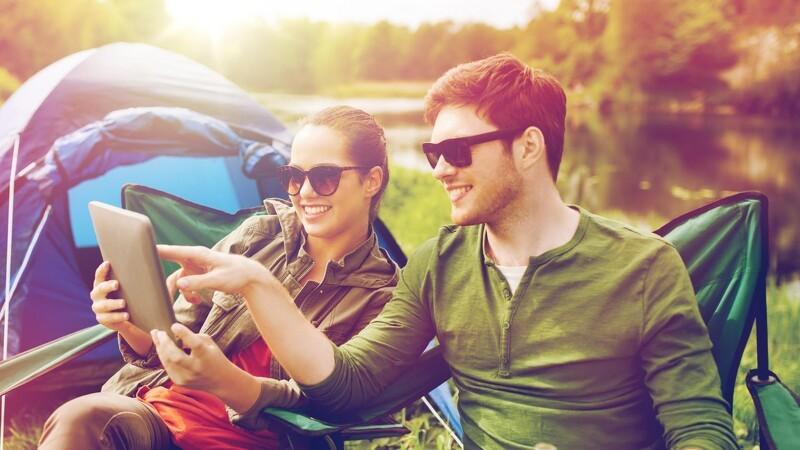Gratis internet i campingvognen