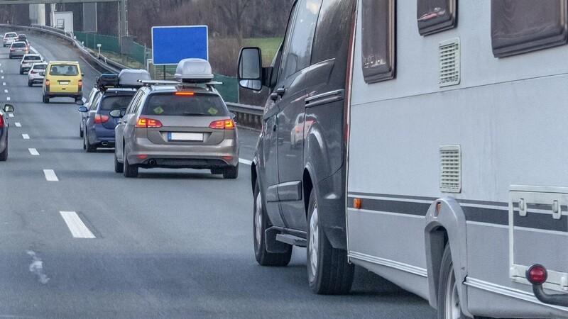 Få ulykker med campingvogne