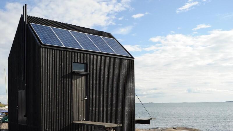 Miljøvenligt træhus til det simple liv