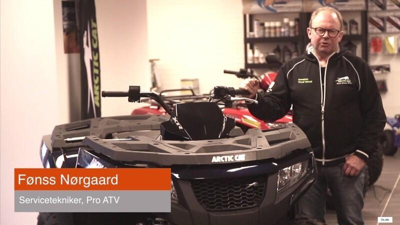 Video-tips: Sådan vedligeholder du din ATV
