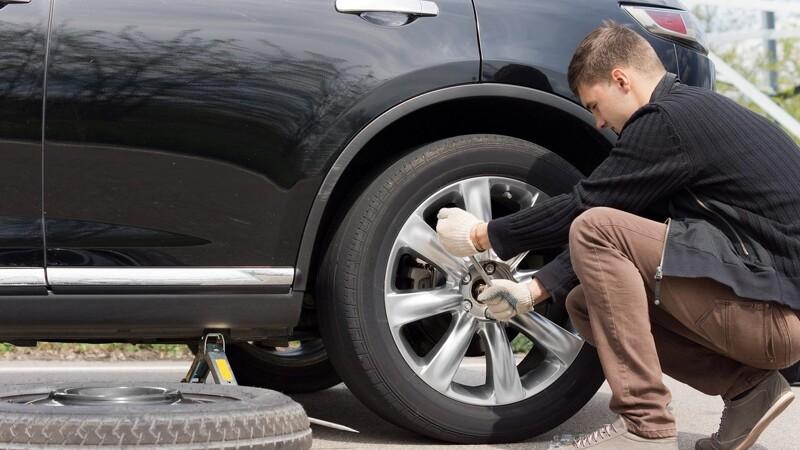 Sådan skifter du korrekt hjul på bilen