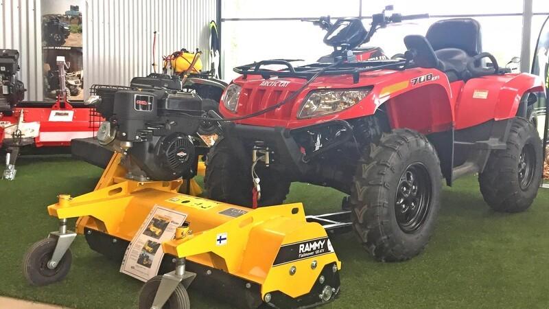 ATV og småmaskiner