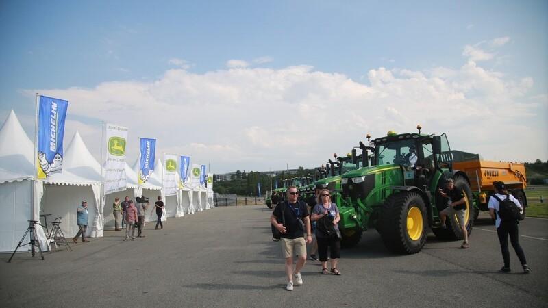 Fynbo kæmper om Europæisk traktor-mesterskab