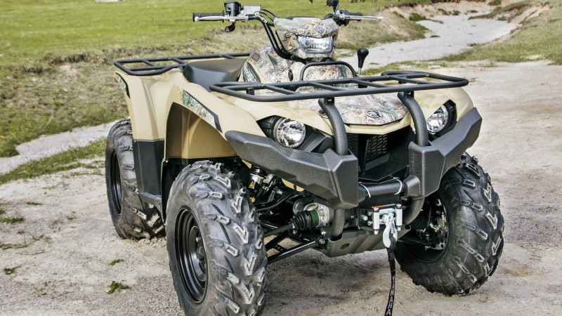 Yamaha løfter arbejds-ATV'en