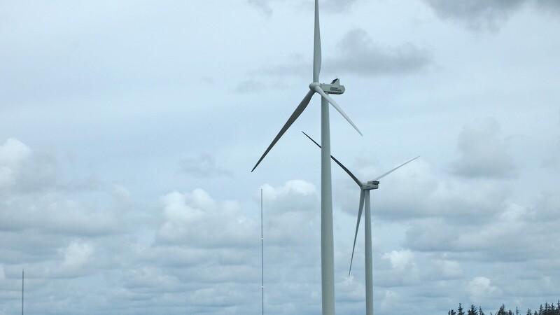 Gå en tur langs kæmpe-vindmøllerne