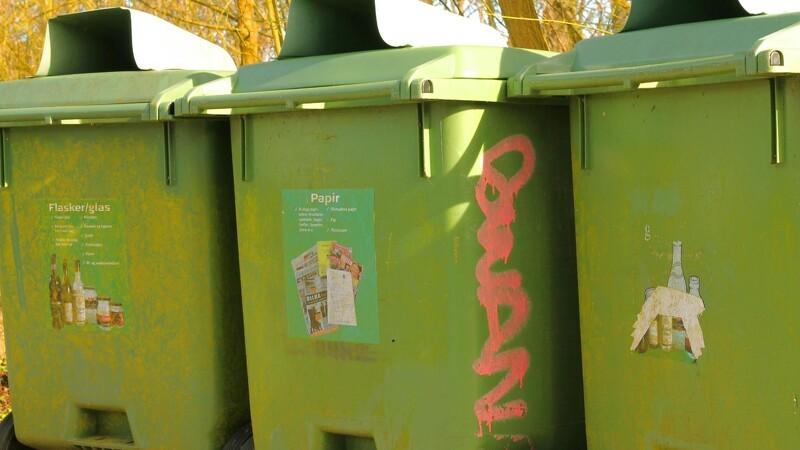 Sortering af affald er et hit