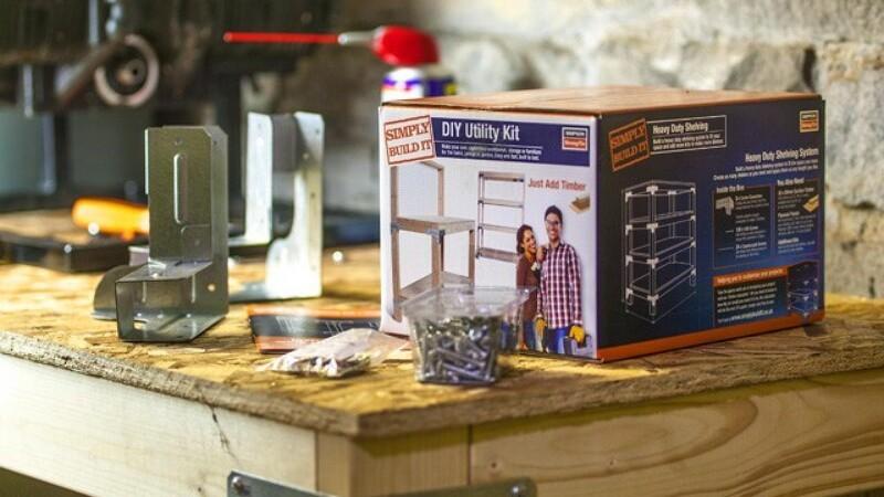 Gør det selv-kit gør det nemt at bygge eget bord
