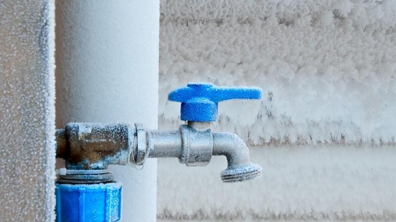 Undgå frostskader på vandrørene