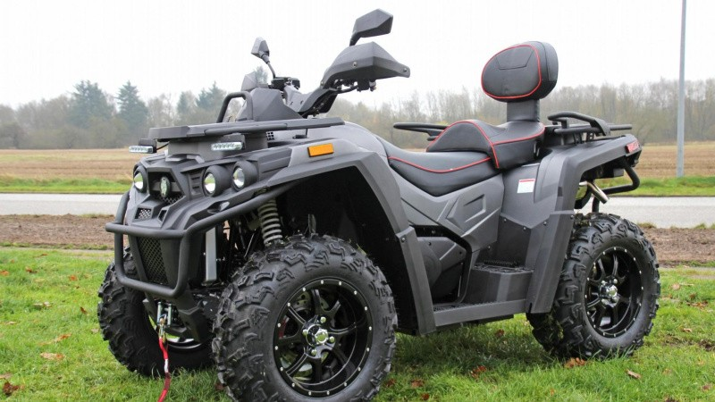 ATV og vintermaskiner
