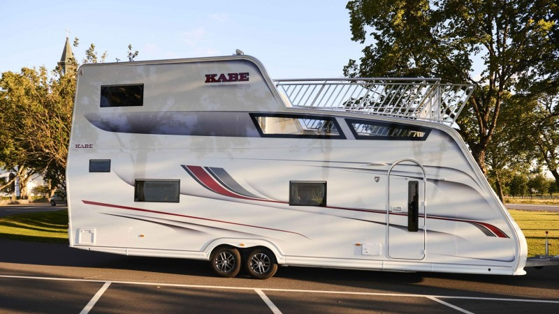 Mød Europas største campingvogn