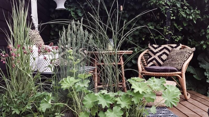 Lounge på terrassen