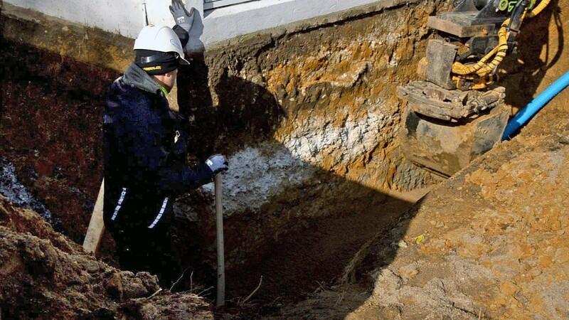 Omfangsdræn er vigtigt for en tør kælder