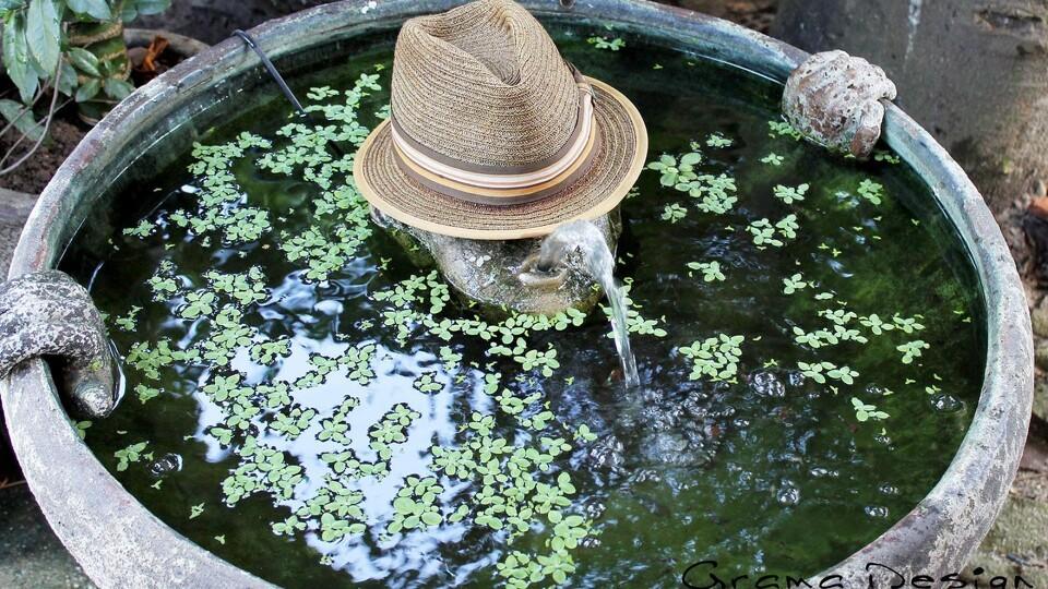 Skab stemning i haven med vandfontæner